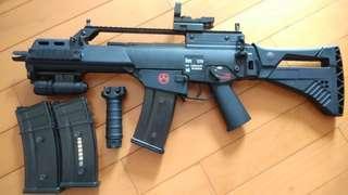氣動汽槍g36