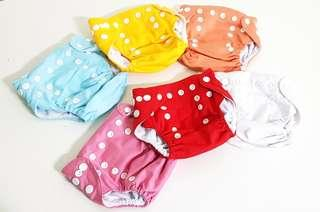 🚚 Cloth Diapers (0 - 6 months)