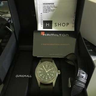Hamilton Khaki Mechanical Reissue