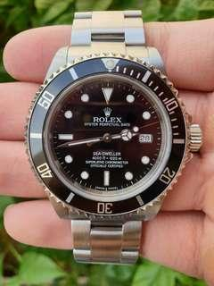 *Full Complete Set* Rolex Sea Dweller 4000Ft Ref. 16600