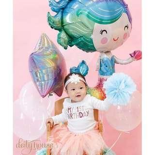 "30"" Colorful Mermaid Balloon"