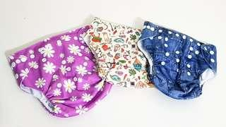 🚚 Cloth Diapers (Patterns)