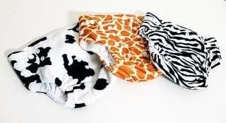 🚚 Cloth Diapers (Animals)