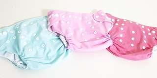 🚚 Cloth Diapers (Solid)