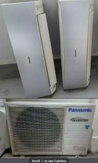 Preown Panasonic inverter system 2 aircon