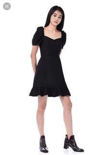 TEM jodi pouf sleeve dress