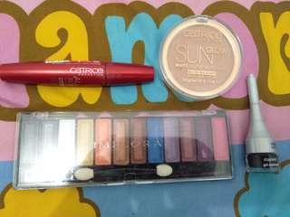 Makeup - Maskara, Bronzer, Eyeshadow, eyeliner