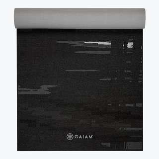 Gaiam Premium Midnight Yoga Mat (6mm)