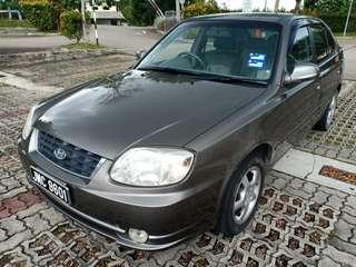 Hyundai accent 1.5 M RSX 2010