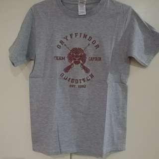 Customized Harry Potter Gryffindor Quidditch Shirt