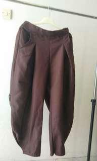 Celana Panjang Coklat