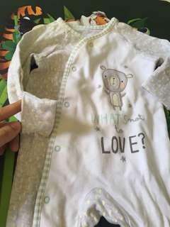 Sleepsuit baju bayi