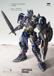 Comicave optimus prime diecast  figure collectible transformers hasbro age of extinction 1/22 scale omni class