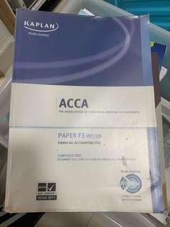 ACCA Financial Accounting Paper 3