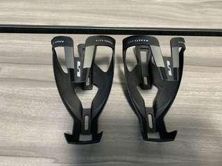 Elite Vico Carbon Mat Black Bottle Cage (2 pieces)