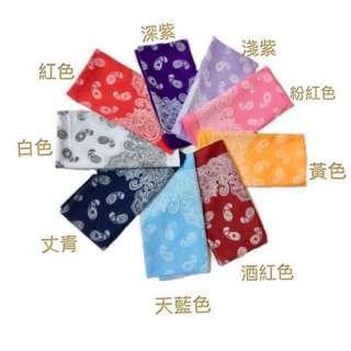 🚚 火力全開888 超人氣方巾男女四季好配備純棉四方巾• 型號:5號變形蟲圖案