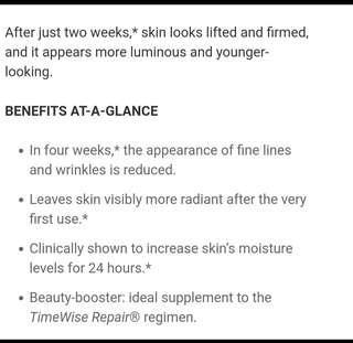 Timewise repair mask