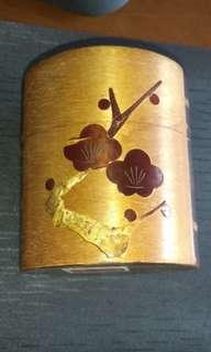Cherry wood container