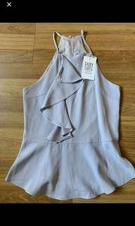 Playdress Grey Halter Top