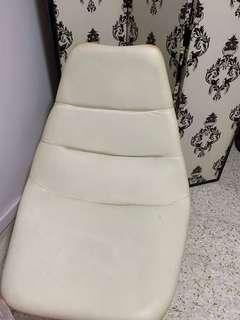 Odesey Leather white chair
