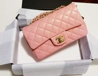 Chanel Mini 20cm CF / Pink mini Flap Brand New