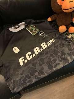 Bape x FCRB game shirt
