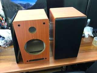 木紋喇叭音箱