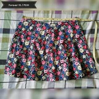 Forever 21 floral skirt (repriced)