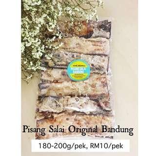 Combo 5 Pek Pisang Salai Original Bandung