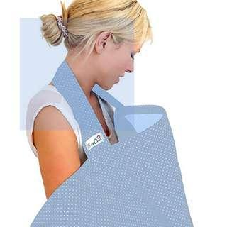 Nursing cover powder blue