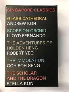 🚚 Singapore classics box set of five books
