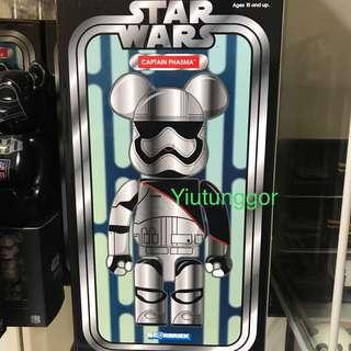 Bearbrick Captain Phasma 400%  #Star Wars #星球大戰 #Medi Com Toy #銀兵