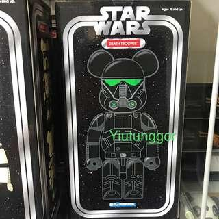 Bearbrick Death Trooper 400%  #Star Wars #星球大戰 #Medi Com Toy