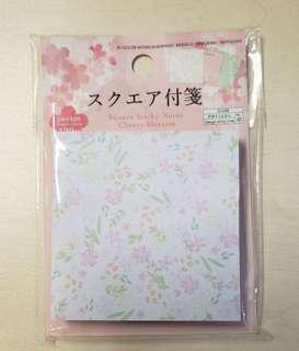 櫻花貼紙(3色)Cherry blossom post-it (120pc) 3 colours