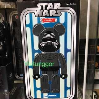 Bearbrick Kylo Ren 400%  #Star Wars #星球大戰 #Medi Com Toy