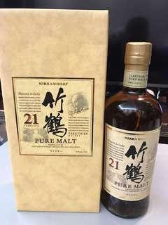 日本威士忌竹鶴21