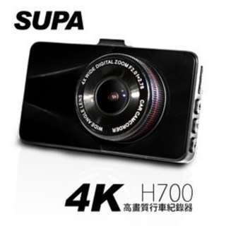 速霸 H700 170度超廣角4K高畫質行車紀錄器