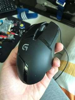 Logitech g402 mouse 滑鼠