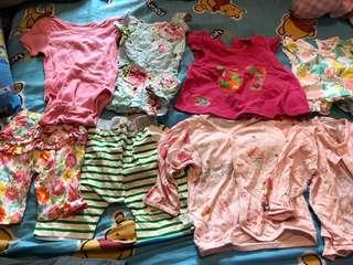 Baby Clothes 1-1.5years BB衫8件