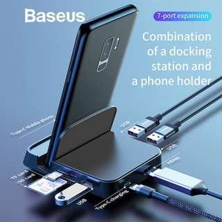 [Baseus]Baseus 30000mAh Power Bank For iPhone Samsung Xiaomi Powerbank USB C PD Fast Charging External Batte