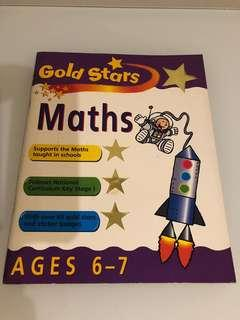 Maths exercise age 6-7 (with stickers)