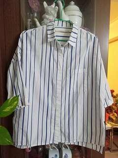 🚚 棉質條紋襯衫