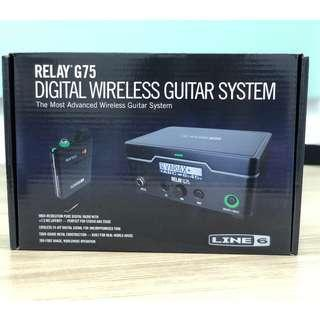 Line 6 Relay G75 Tour Grade Wireless Guitar System