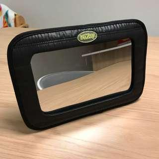 Nuby back seat baby view mirror (must have for newborn) 新舊如圖 As shown condition