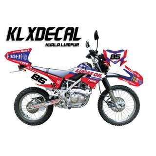 KLX Decal Murah Area KL