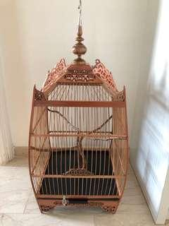 Brand new 9 coin Penang square cage with cover