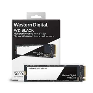 SSD WD Western Digital NVMe™ 250GB No Warranty