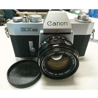 Canon Vintage film 菲林相機 with 50mm 1.8 Lens