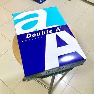 Sale! Double A A4紙 80gsm 500sheets