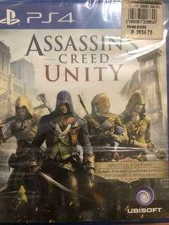 PS4 Games for Sale Assassin's Creed Unity